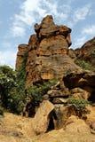 Faleza Bandiagara, Mali, Afryka Obraz Stock