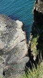 Faleza blisko nadmorski Błękitnego Nawadnia Zdjęcia Royalty Free