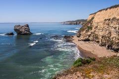 Faleza morzem Zdjęcie Stock