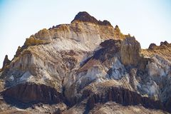 Faleza na krawędzi Ustiurt plateau, Kazachstan Fotografia Royalty Free