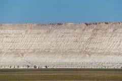 Faleza na krawędzi Ustiurt plateau, Kazachstan Obrazy Stock