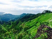 Faleza na Mt Tibig Zdjęcie Royalty Free