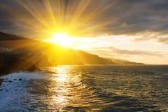 falezy Cruz De Dom losu angeles oceanu puerto Zdjęcia Royalty Free