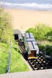 Falezy dźwignięcie, Scarborough, Yorkshire Fotografia Royalty Free