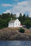 falezy domu światło Zdjęcia Royalty Free