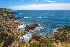 Falezy Eden, Nowe południowe walie, Australia zdjęcie stock