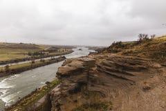 Falezy Missouri rzeka zdjęcie royalty free