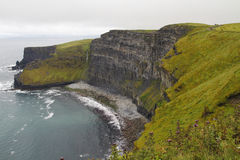 Falezy moher w Clare co , Irlandia Obrazy Royalty Free