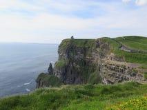 Falezy moher zachodni Ireland zdjęcie royalty free