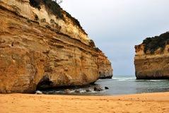 falezy morze Zdjęcie Stock