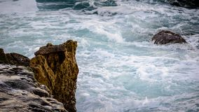 Falezy morzem Fotografia Stock