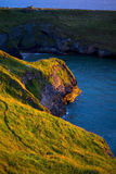Falezy nad magdalenki plażą Zdjęcia Royalty Free