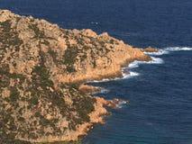 Falezy północny Sardinia Zdjęcie Stock