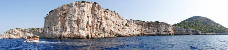 falezy panorama Zdjęcie Royalty Free