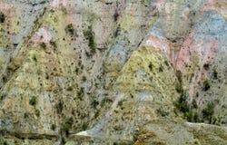 Falezy zbliżają los angeles Paz w Boliwia Obraz Stock