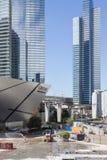 Falha da construção em Las Vegas imagens de stock royalty free