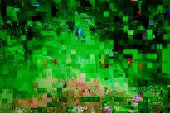 Falha da transmissão da televisão Foto de Stock