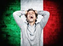Falha de Itália Fotografia de Stock Royalty Free