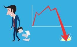 Falha de negócio Fotos de Stock