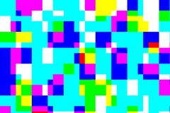 falha digital do processamento de teste padrão do erro da cor da suficiência do pixel fotografia de stock royalty free
