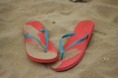 Falhanços de aleta das mulheres cor-de-rosa Fotografia de Stock Royalty Free