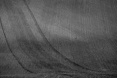 Faliści jesieni pola w Morawskim Tuscany, republika czech obrazy stock