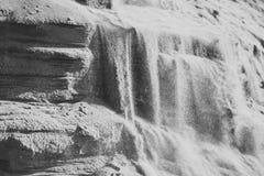 Faling沙子 生态,地质,沙子层数 库存图片