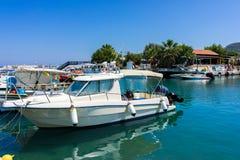 Faliraki Harbour Rhodes Royalty Free Stock Images