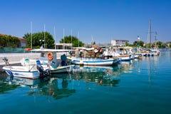 Faliraki Harbour Rhodes Royalty Free Stock Image