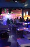 Faliraki night life, bar, disco. Rhodes island, Greece Stock Photos