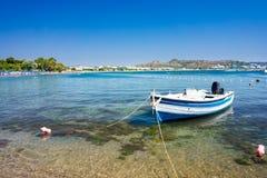 Faliraki strand Rhodes Arkivbilder