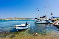 Faliraki strand Rhodes Royaltyfri Bild