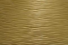 Falista textured ściana Zdjęcia Stock