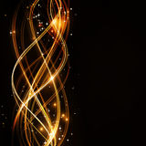 faliste abstrakcjonistyczne deseniowe gwiazdy Fotografia Royalty Free