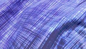 Falisty Błękitny tło wzór Wykłada abstrakt Obraz Stock