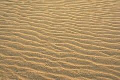 Falisty plażowy piaska tło obrazy royalty free