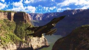 Falk för stridighet F-16 royaltyfri illustrationer
