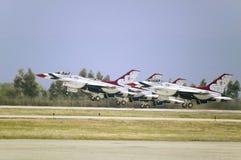 Falkar för stridighet för US-flygvapen F-16C, Royaltyfria Bilder