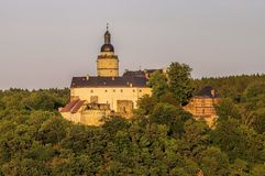 Falkenstein城堡 免版税库存图片