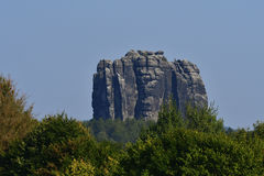 Falkenstein ​​in saxon switzerland Royalty Free Stock Photo