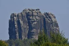 Falkenstein ​​in saxon switzerland Royalty Free Stock Photography