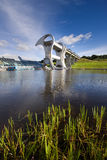 Falkirk Wheel Boat Lift Stock Photo