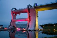 Falkirk Wheel At Night Stock Images