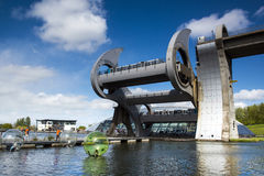 The Falkirk Wheel Royalty Free Stock Photo