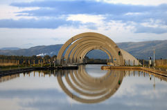 The Falkirk Wheel, Scotland. Royalty Free Stock Image