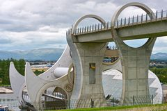 Falkirk Wheel,Scotland, UK, Europe Stock Image