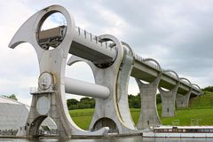 Falkirk Wheel, Scotland, UK, Europe Royalty Free Stock Photo