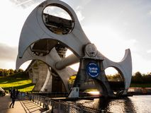 Falkirk Wheels stock images