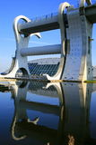 The falkirkwheel. The falkirk wheel,rotating boat lift Stock Photography