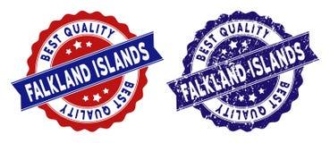 Falkland Islands Best Quality Stamp con stile graffiato Immagine Stock Libera da Diritti